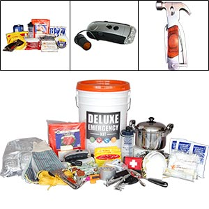 Various emergency kits